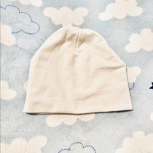 Infant white prima cotton hat